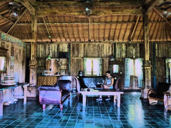 Villa Awang Awang interior in Ubud, Indonesia