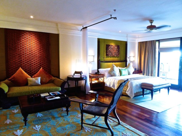 Suite at St. Regis Bali Resort in Nusa Dua in Indonesia