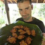 Recipe for Indonesian perkedel jagung (sweetcorn fritters)