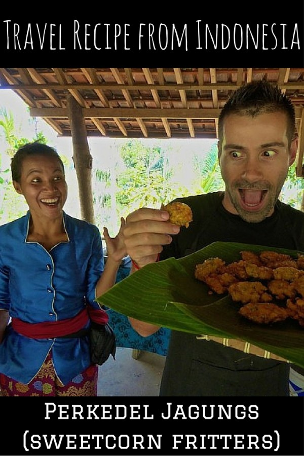 #Indonesia travel #recipe for #perkedelJagung corn fritters