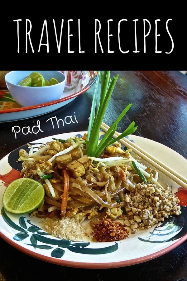 The Nomadic Boys Pad Thai #travelrecipe from #ChiangMai #Thailand
