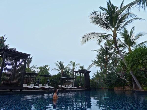 Salt water lagoon St. Regis Bali Resort Nusa Dua