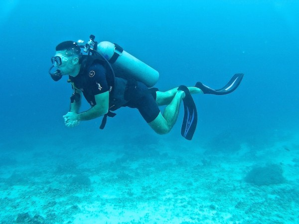 Stefan scuba diving Gili islands