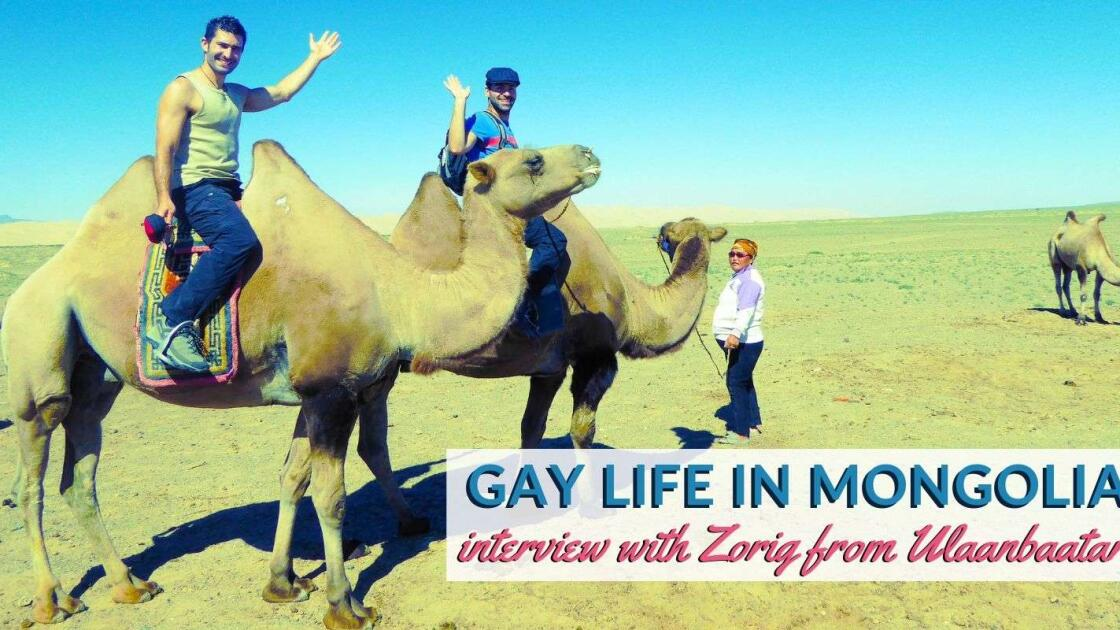 Gay Mongolian man Zorig tells us about the only gay bar in Mongolia