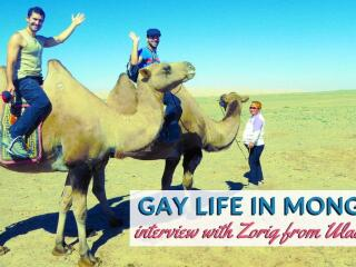Nomadic Boys meet Zorig, a gay local in Ulaanbaatar, Mongolia