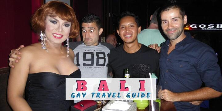 a travel guide to Bali gay bars and clubs with hotels