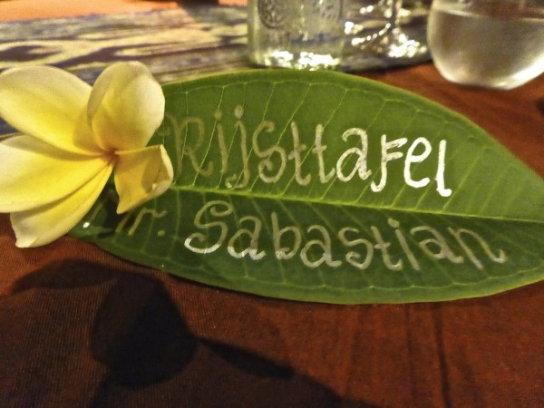 Rijsttafel one of 10 interesting facts about Indonesia