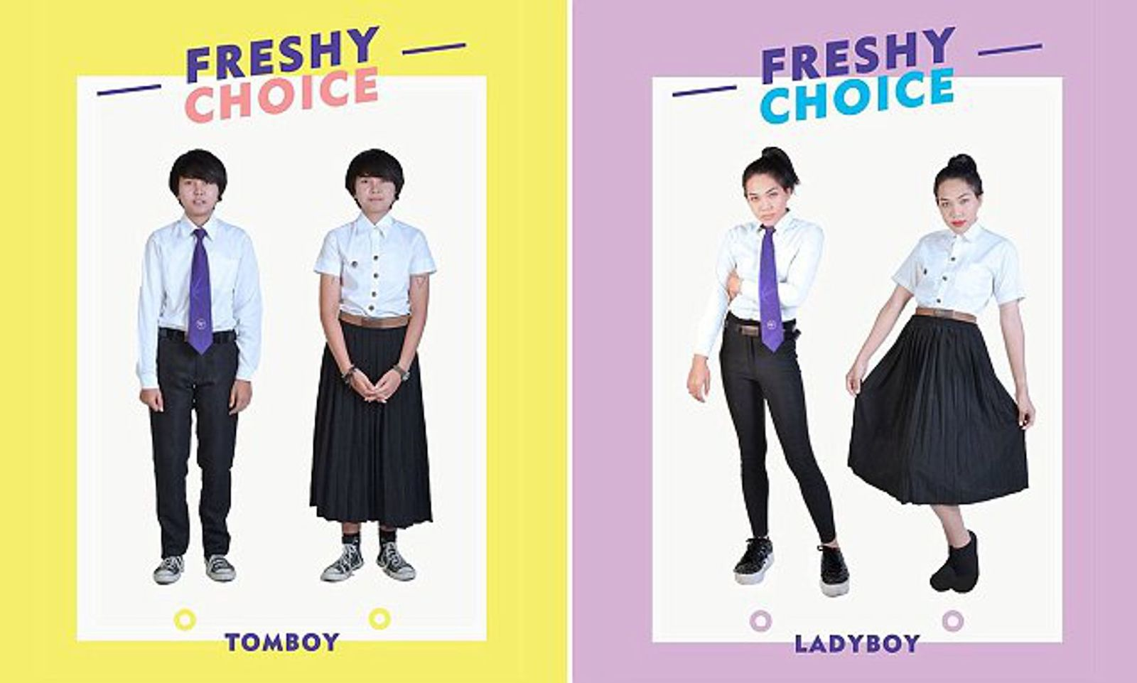 Thailand school uniform for transgender pupils