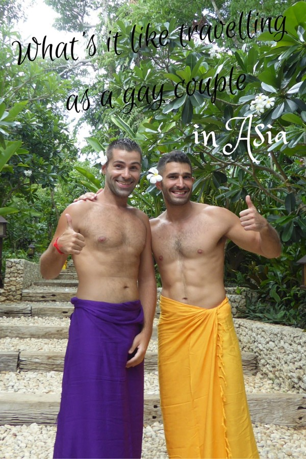 What's it like travelling as a gay couple in Asia?