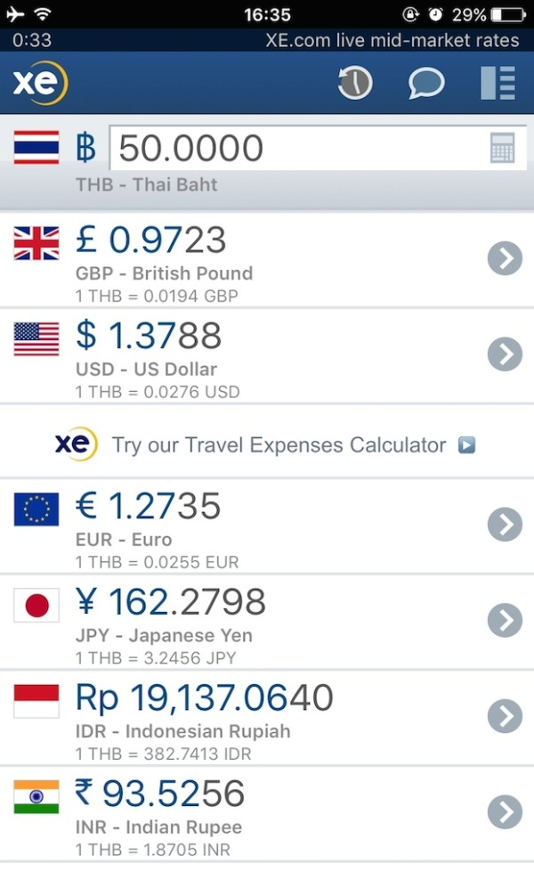 XE Currency one of our favourite mobile apps for gay travellers