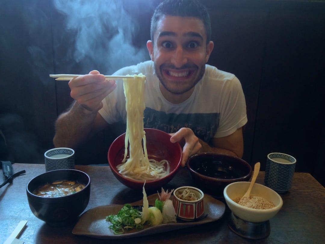 Yaki udon noodles best traditional food of Japan