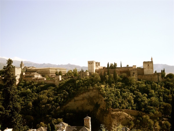 Gay Malaga tourism Al Hambra of Granada