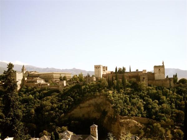 Gay Malaga tourism Al Hambra of Granada