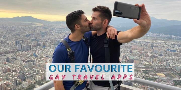 Check out our favourite gay travel apps that we like to use when travelling