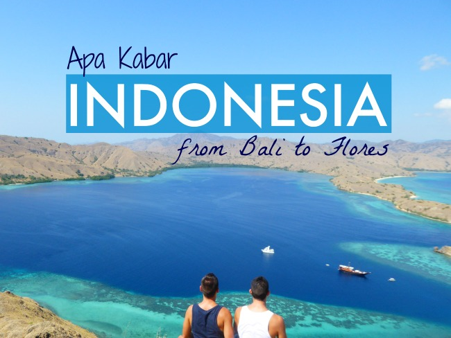 Indonesia travel video with Nomadic Boys