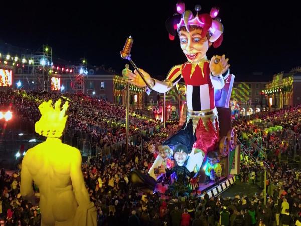 Lou Queernaval in Nice part of Nice carnival