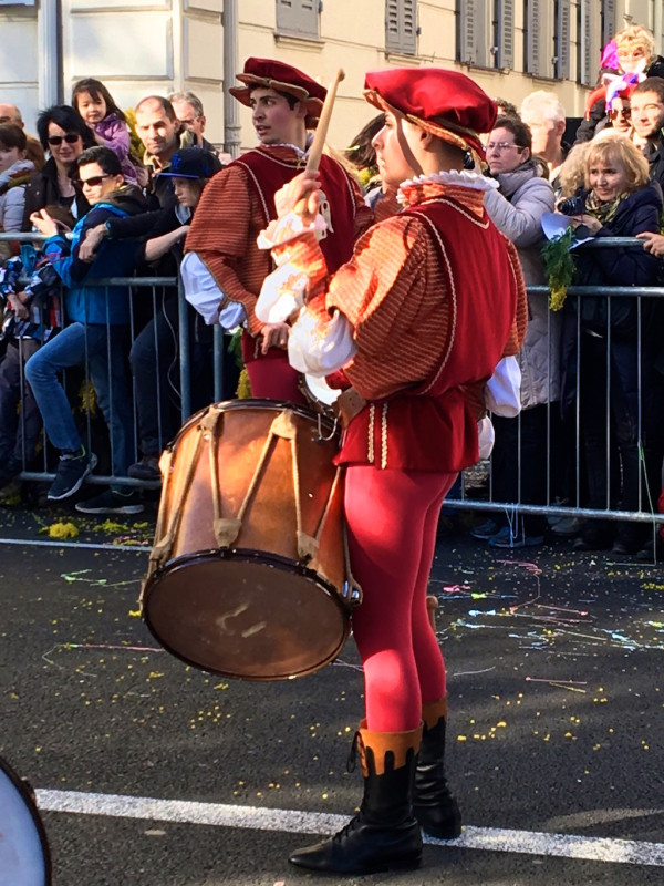 Performer during Queernaval first gay carnival France