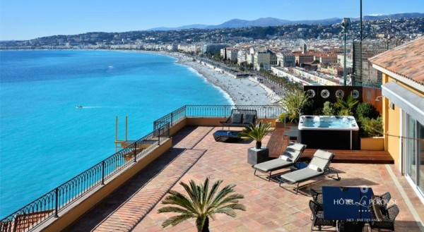 Hotel La Perouse gay friendly hotels in Nice