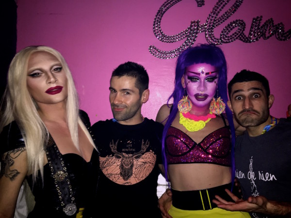 Discovering gay carnival in Nice at Le Glam afterparty