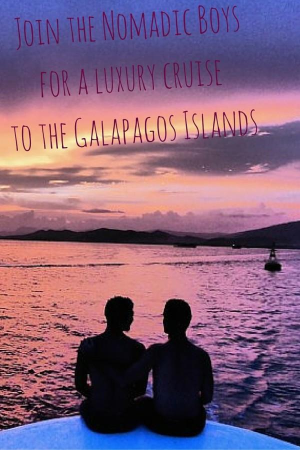 Pinterest Nomadic Boys luxury gay cruise to the Galapagos