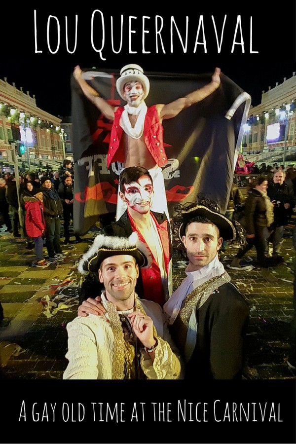 The Nomadic Boys at Nice Carnival's Lou Queernaval
