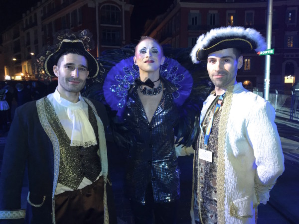 Queernaval host Erwann leading France's first gay carnival