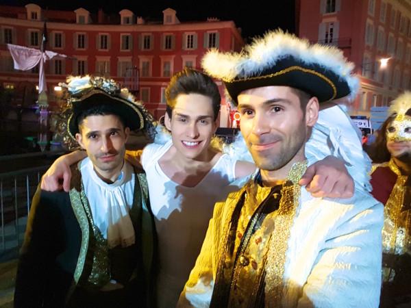 Manuel Blanche Nomadic Boys Queernaval Nice Carnival