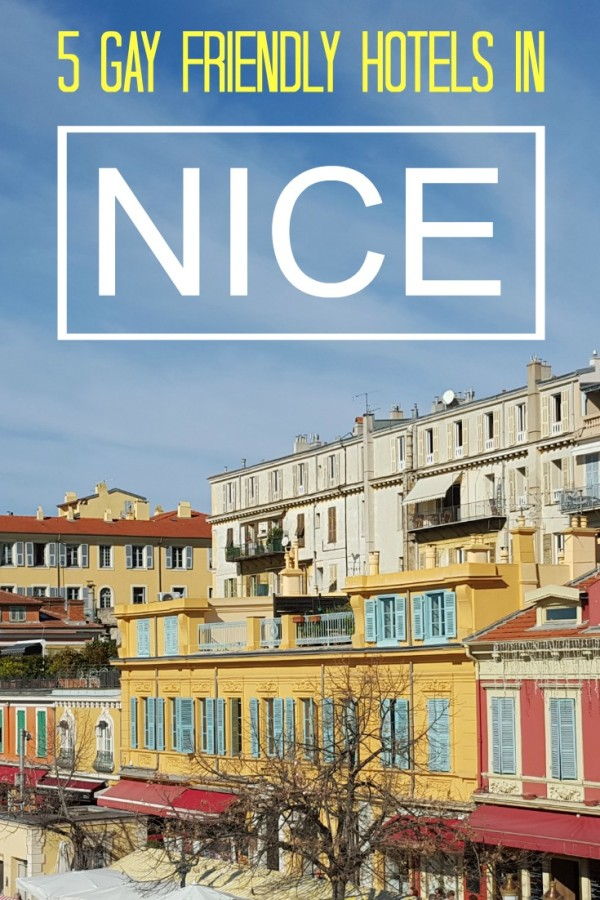 5 gay friendly hotels in Nice