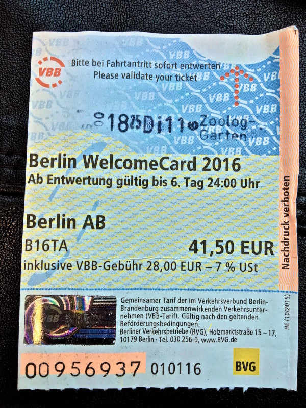 Gay guide to Schöneberg Berlin WelcomeCard