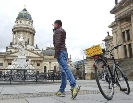 Exploring Berlin on Bike