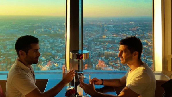 Berlin TV Tower romantic things to do in Berlin