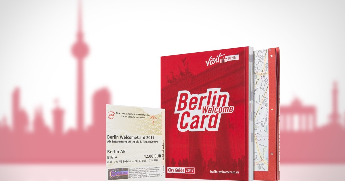 Berlin Welcome Card for get from Tegel airport to Berlin