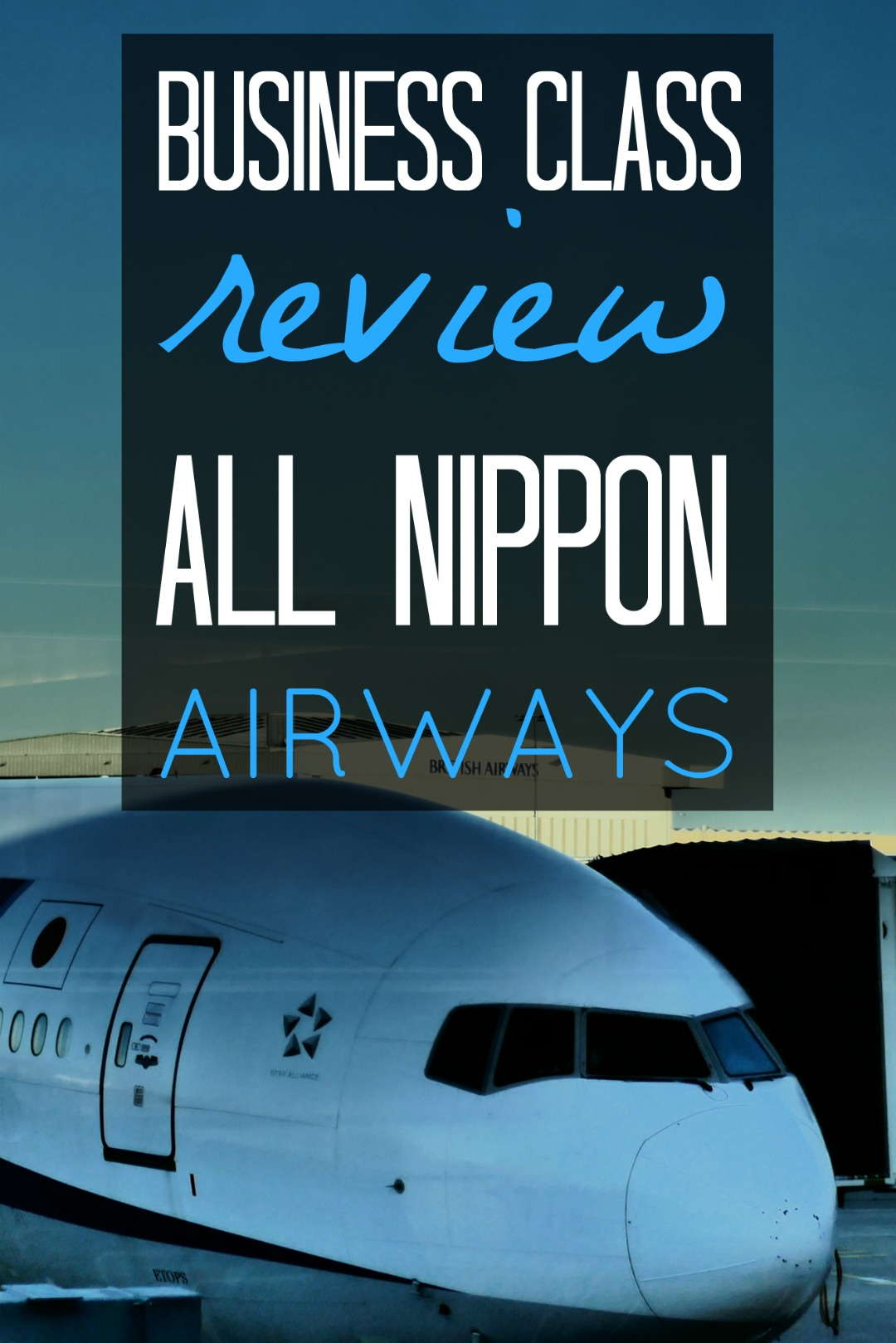 Pinterest flying business class review with ANA
