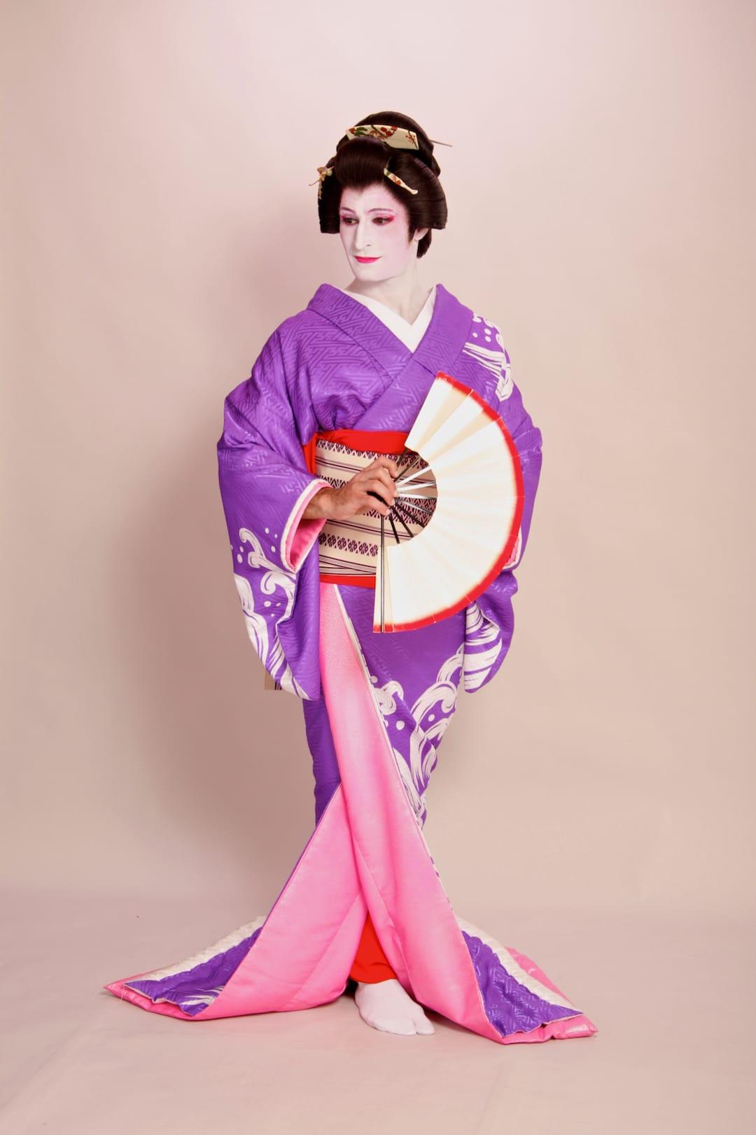 Geisha makeover in Tokyo Stefan photoshoot