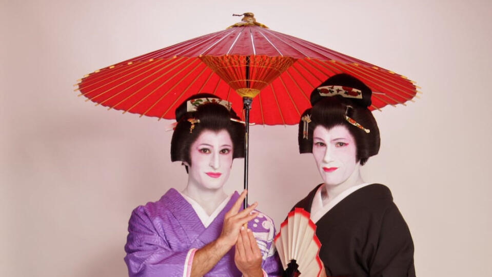 Geisha makeover in Tokyo, a must do for men and women
