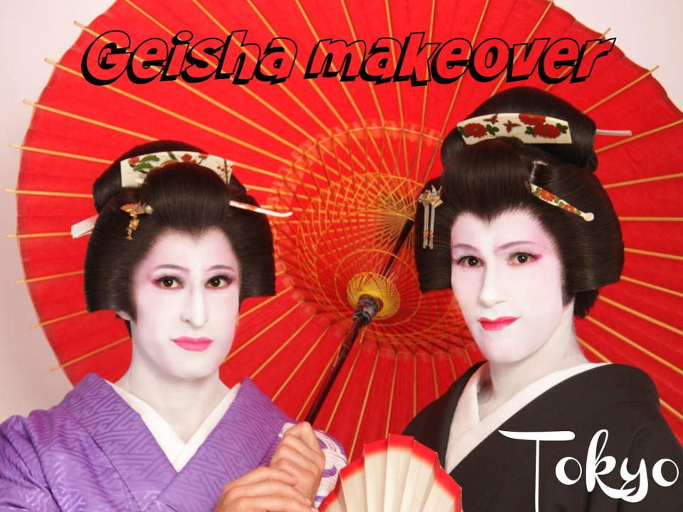 63454be04 Geisha makeover in Tokyo, a must do for men and women