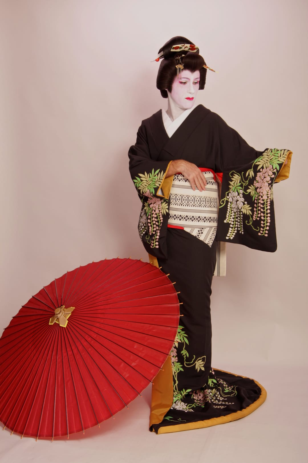 Sebastien geisha makeover transformation in Tokyo
