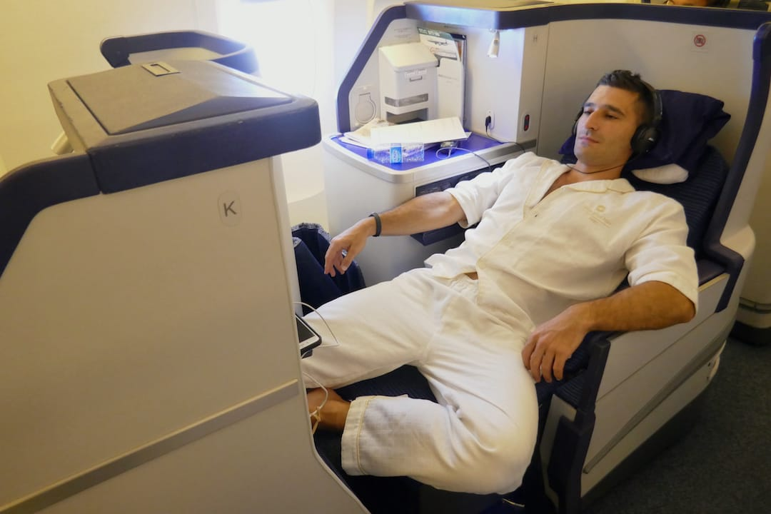 ANA Business class review highly rated seats and facilities