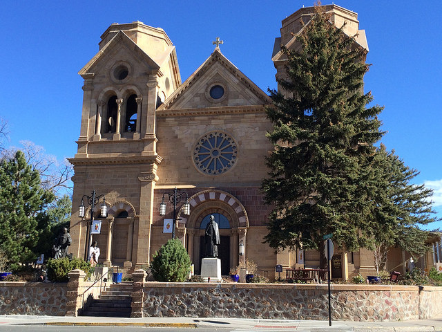the Cathedral Basilica of St. Francis trip to Santa Fe