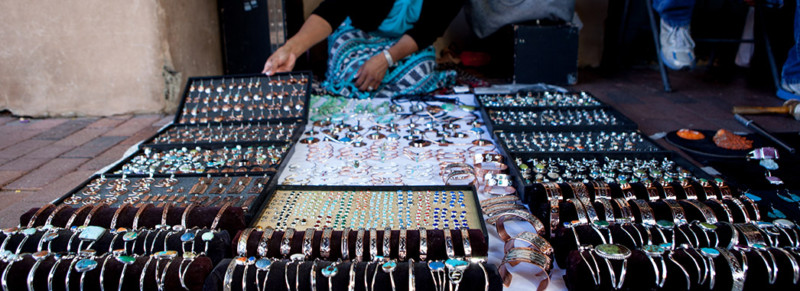A trip to Santa Fe Canyon Road market