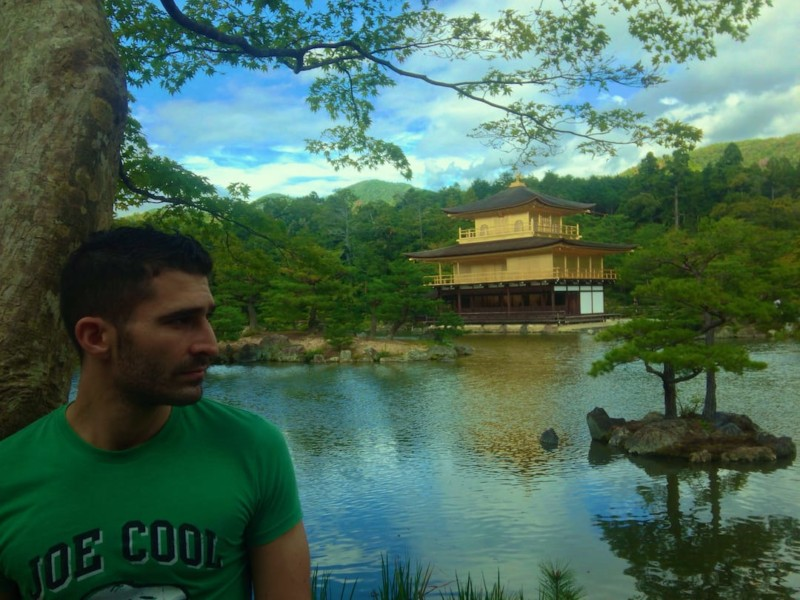 Japan itinerary Kyoto Golden Temple Stefan