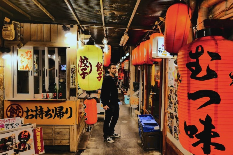 Izakaya in Japan good for trying traditional Japanese food