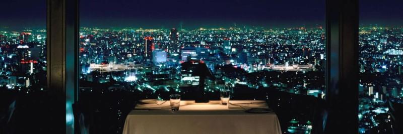 Park Hyatt gay hotel in Tokyo Shinjuku New York Bar skyline view