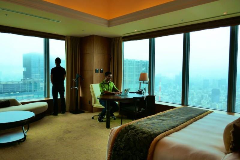 Japan trip blog Tokyo luxury hotel
