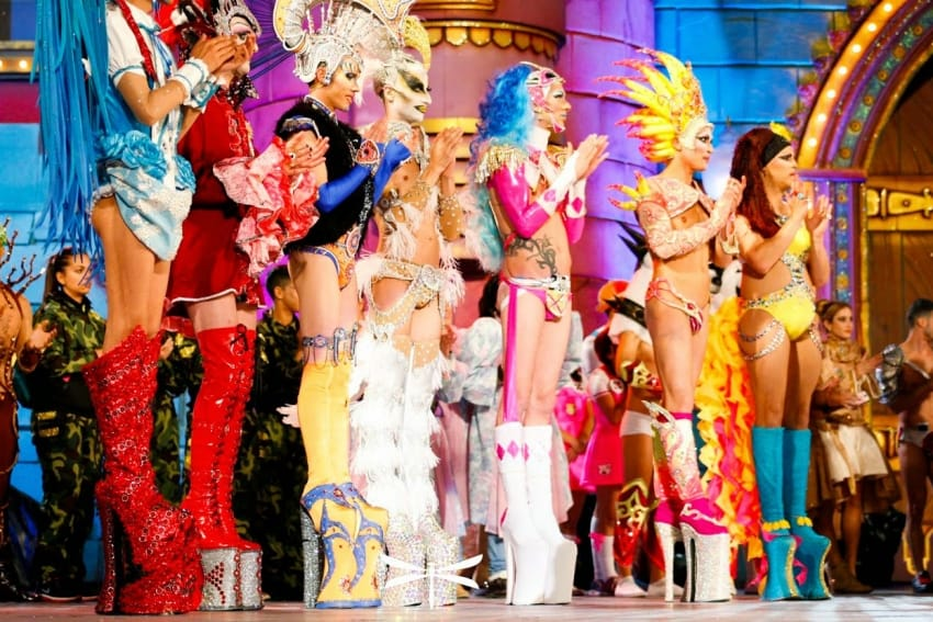 Gran Canaria gay scene Drag Queen Gala
