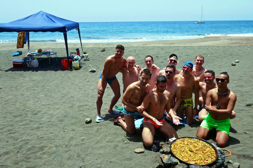 Gui Gui beach interesting facts about Gran Canaria