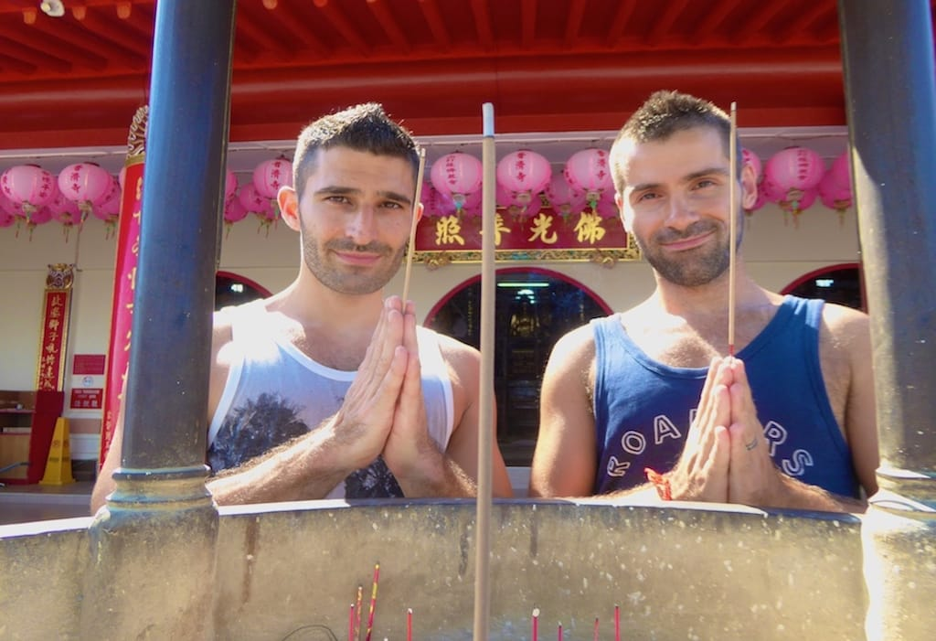 Gay couples travelling in Asia Nomadic Boys
