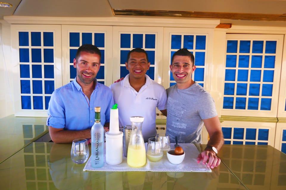 Carlos barman Passion 5 star galapagos cruise