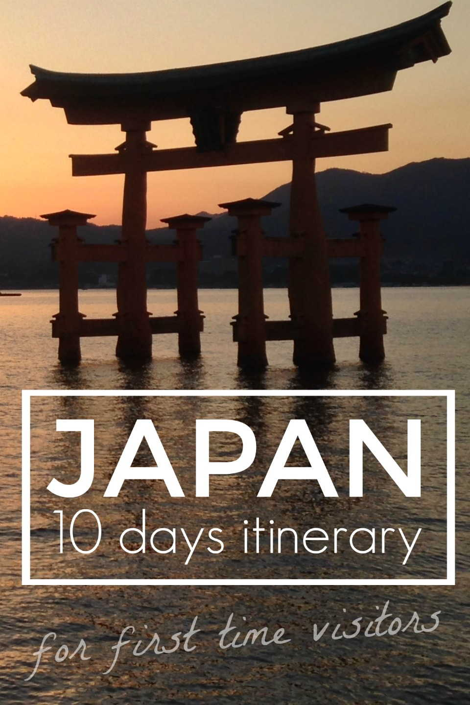 Pinterest Japan itinerary Nomadic Boys