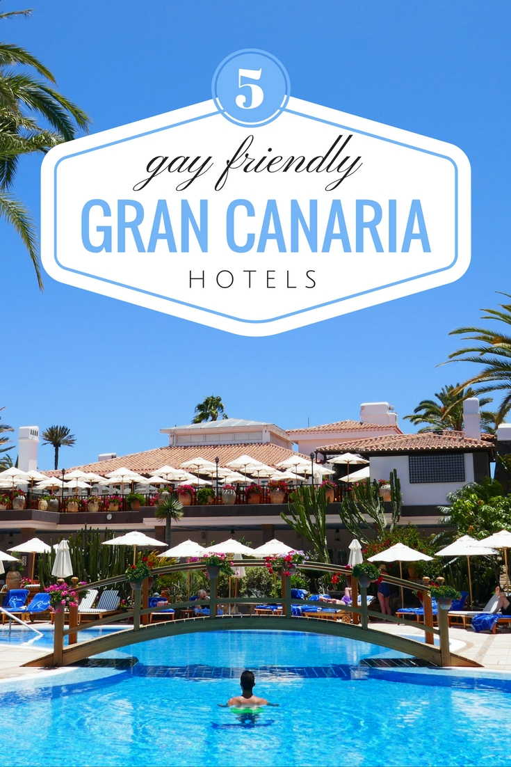 5 unique gay friendly hotels in Gran Canaria